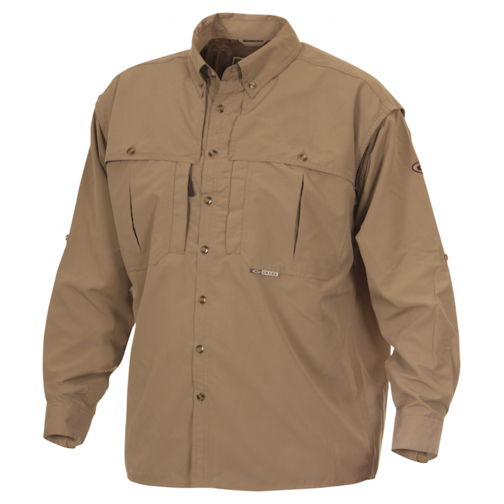 Drake Waterfowl Men's Wingshooter's Long-Sleeve Shirt