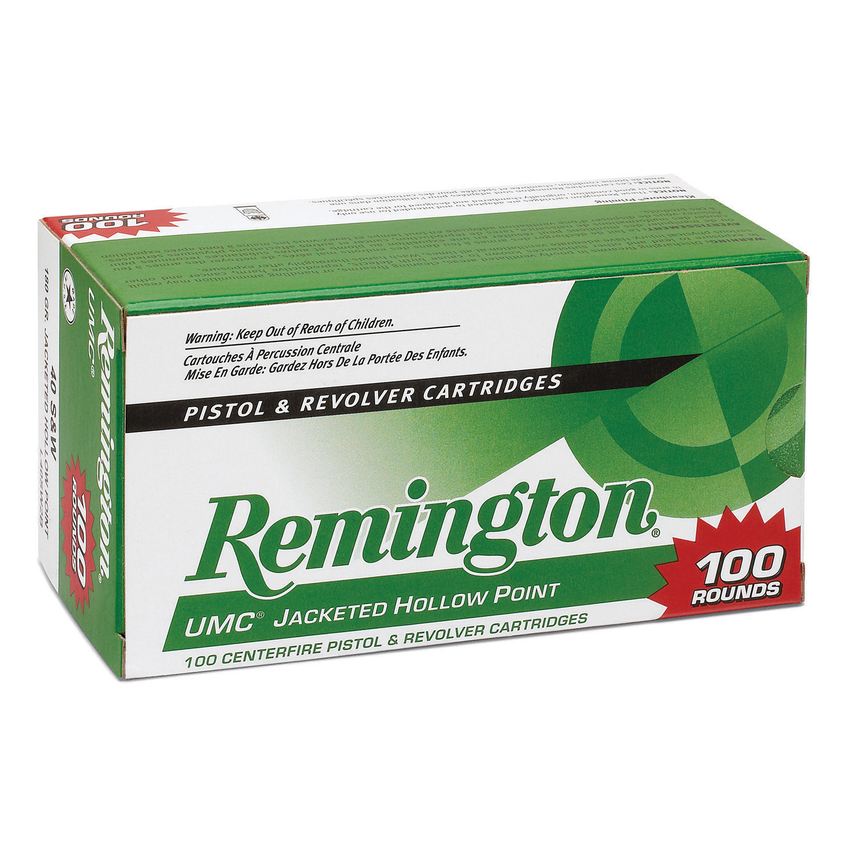 Remington UMC Handgun Ammunition Value Pack, .380 ACP, 88-gr, JHP, 100 Rounds