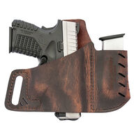 Versacarry Commander OWB Holster, Distressed Brown