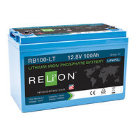 RELiON 12V 100Ah-LT Low Temperature Lithium Battery