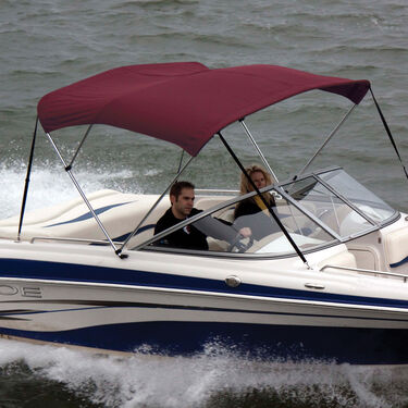 Shademate Polyester Stainless 3-Bow Bimini Top 5'L x 32''H 67''-72'' Wide