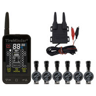 TireMinder 88C RV TPMS Tire Monitoring System with 6 Flow-Through Transmitters