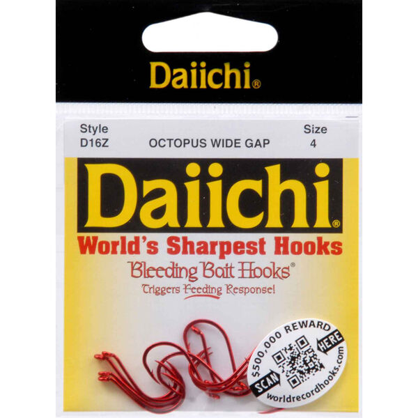Daiichi Wide Gap Octopus Hook