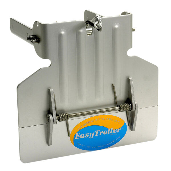 EasyTroller Hinged Metal Trolling Plate, Short Plate without Fins