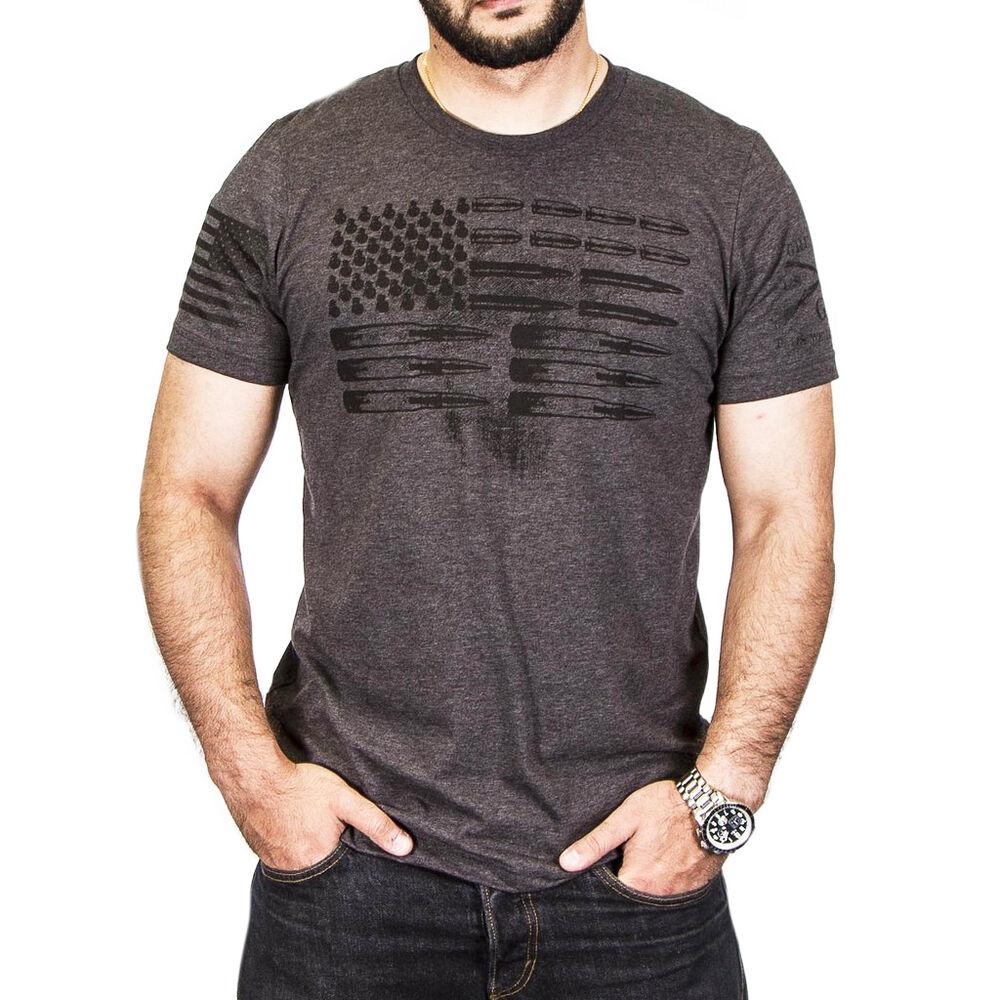 748d09fdd Grunt Style Men's Ammo Flag Short-Sleeve Tee | Gander Outdoors