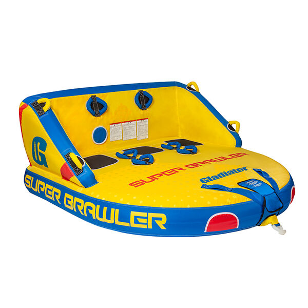 Gladiator Super Brawler 3-Person Towable Tube