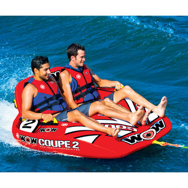 WOW Coupe 2-Person Towable Tube