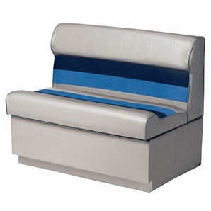 "Toonmate Deluxe 27"" Lounge Seat - TOP ONLY - Gray/Navy/Blue"
