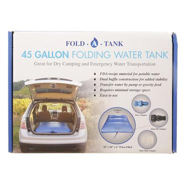 Portable RV Fresh Water Tank, 45 Gallon