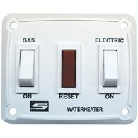Wall Switch for Suburban DSI LP/Electric Water Heaters, Putty
