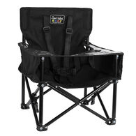 ciao! baby Pug Booster Compact Folding Booster Chair, Black