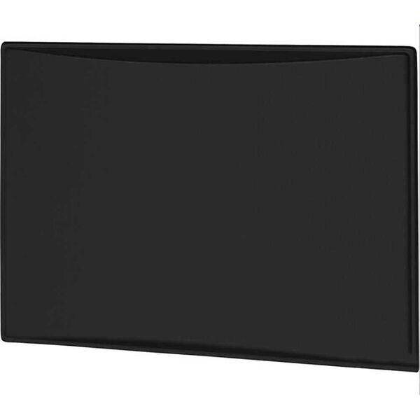 New Generation 9.0CF Refrigerator Door Panels, Contoured - Brushed Black Stainless
