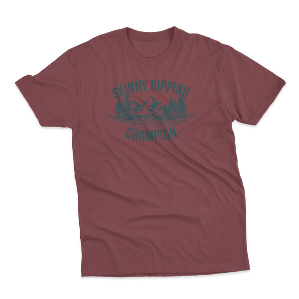Points North Men's Skinny Dipping Champion Short-Sleeve Tee