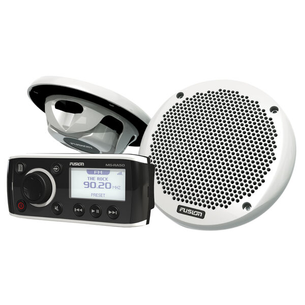 Fusion MS-RA50 Receiver Package With MS-EL602 Speakers