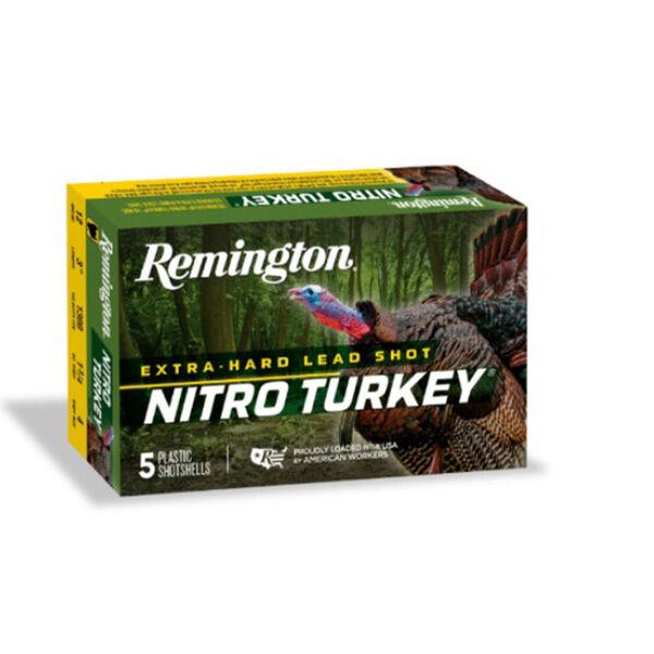 "Remington Nitro Turkey Loads, 12-ga. 3"", 4 Shot, 5 Rounds"