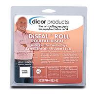 "Dicor Diseal Sealing Tape, 4"" x 12.5' Roll, White"