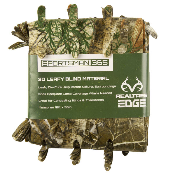 Sportsman 365 3-D Leafy Blind Material, Realtree Edge Camo