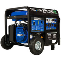DuroMax 12,000-Watt 460cc Dual Fuel Portable Generator with CO Alert