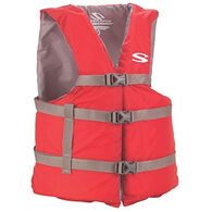 STEARNS Universal Adult Life Vest, Red