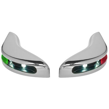 Toonmate Pontoon LED Docking Light Module Set, Chrome Finish