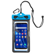 "Dry Pak Floating Waterproof Cell Phone Case, 4"" x 7"", Electric Blue"