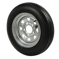 Kenda Loadstar 5.30 x 12 Bias Trailer Tire w/5-Lug Galvanized Spoke Rim