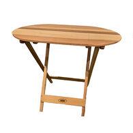 Cedar Wood TailBak Table, Unfinished
