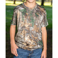 Realtree Youth Poly Short-Sleeve Tee