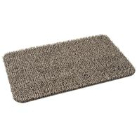 "AstroTurf Durascrape Design Door Mat, 17 ½""  x 29 ½"", Earth Taupe"