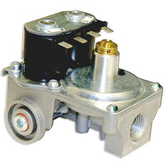 "Gas Valve, Straight, 3/8"" NPT Inlet & 1/4"" Loxit Outlet, DSI SW Model, Water Heater"