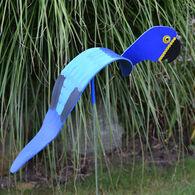 Blue Macaw Lawn Ornament