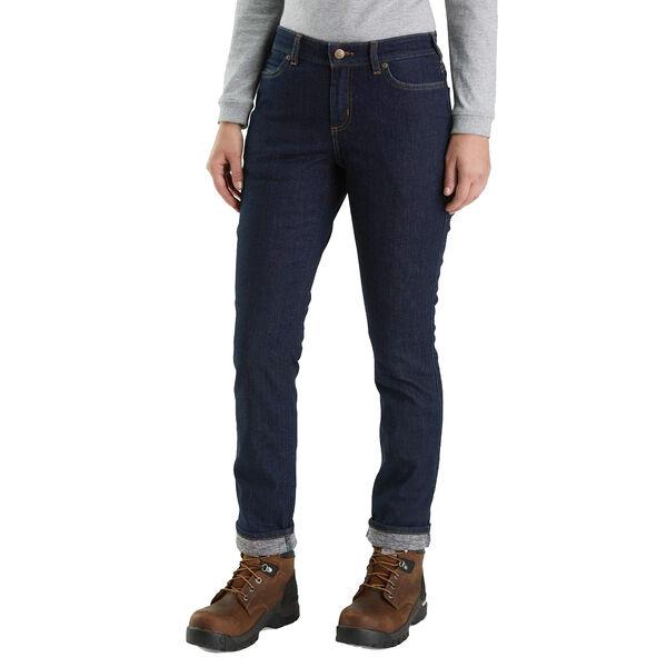 Carhartt Women's Straight-Leg Lined Jeans