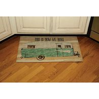 "How We Roll Indoor/Outdoor Mat, 18"" x 30"""