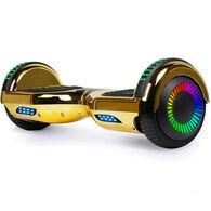 GlareWheel M3 Chrome Hoverboard, Gold