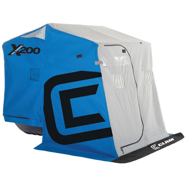 Clam X200 Pro Thermal Fish Trap Ice Shelter