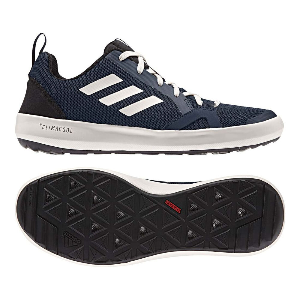 new style 8e863 c443c Adidas Men's Terrex Climacool Boat Shoe – Collegiate Navy/Chalk White/Black