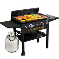"Blackstone 28"" Gas Griddle Cooking Station with Hard Cover"