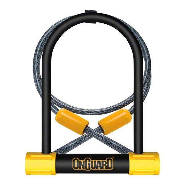 OnGuard Bulldog U-Lock with Cable