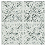 InHome Chelsea Antique White Faux Metallic Peel-and-Stick Tiles