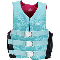 Connelly Women's Tunnel 3-Belt Nylon Life Jacket - Tropical - XS