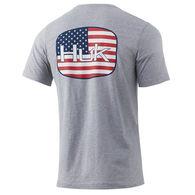 Huk Men's American Badge Short-Sleeve Tee