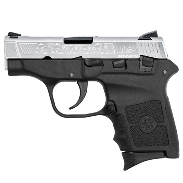 Smith & Wesson M&P Bodyguard 380 Engraved Handgun