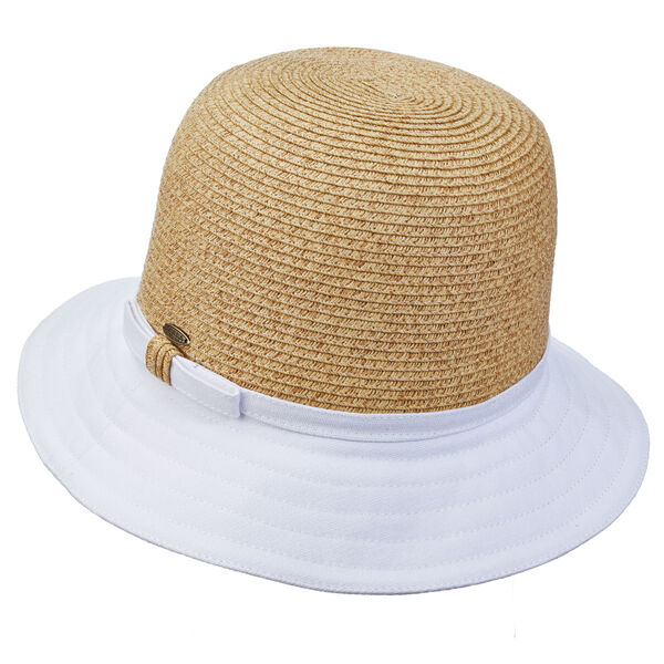 Dorfman Pacific Women's Cloche Paper Braid Hat