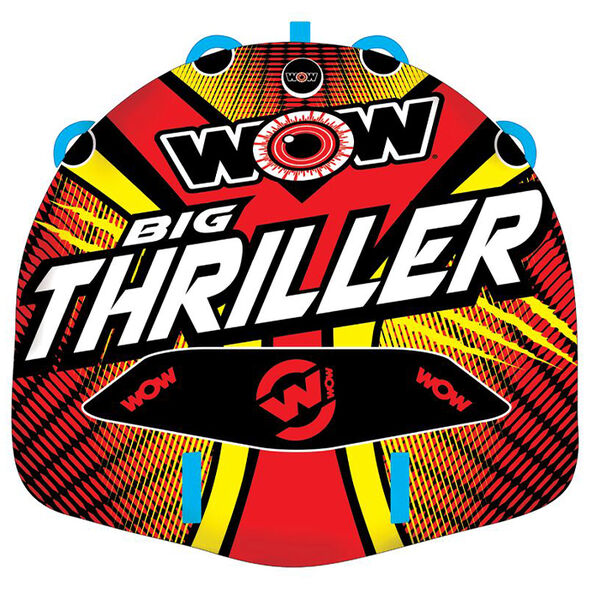 WOW Big Thriller Pro Series 2-Person Towable Tube