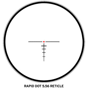 Steiner M5Xi 1-5x24 Riflescope 30mm Rapid Dot 5.56 Reticle