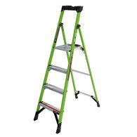 6' Mightylite Fiberglass Ladder, Type IA- 300 lbs
