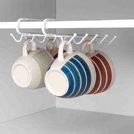 Home Basics Under-the-Shelf Mug Rack