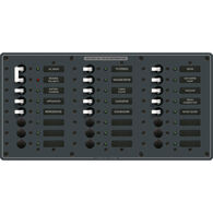 Blue Sea 230V AC Main + 22 Position Circuit Breaker Panel