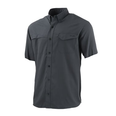 Huk Tide Point Woven Solid Button-Down Shirt
