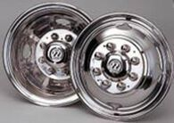 "Wheel Masters Wheeliners for Dual Wheels - 19.5"" GM/Chevy P-30 Tag Axle Kit"